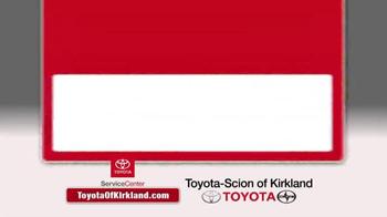 Toyota of Kirkland TV Spot, 'Spring Service Special' - Thumbnail 1