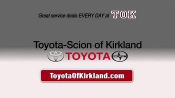 Toyota of Kirkland TV Spot, 'Spring Service Special' - Thumbnail 10