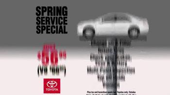 Toyota of Kirkland TV Spot, 'Spring Service Special' - Thumbnail 5