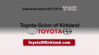Toyota of Kirkland TV Spot, 'Spring Service Special' - Thumbnail 9