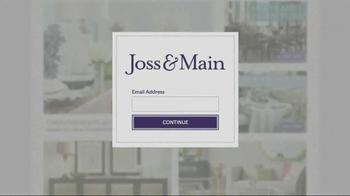 Joss and Main TV Spot, 'Finishing Touch' - Thumbnail 6