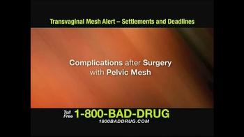 Pulaski & Middleman TV Spot, 'Transvaginal Mesh Alert' - Thumbnail 1