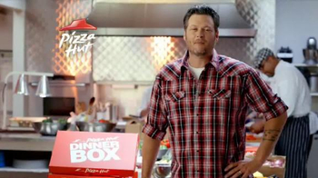 Pizza Hut Dinner Box TV Spot Featuring Blake Shelton - Thumbnail 2