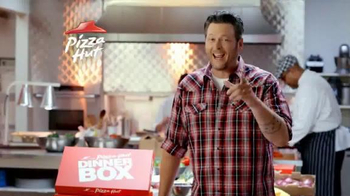 Pizza Hut Dinner Box TV Spot Featuring Blake Shelton - Thumbnail 3