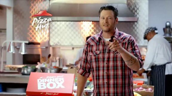Pizza Hut Dinner Box TV Spot Featuring Blake Shelton - Thumbnail 4