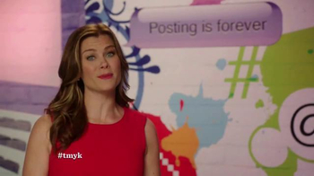 The More You Know TV Spot, 'Cyber Bullying' Featuring Alison Sweeney - Thumbnail 7