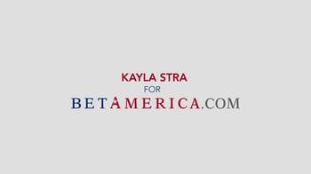 Bet America TV Spot Featuring Kayla Stra - Thumbnail 3