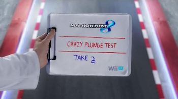 Mario Kart 8 TV Spot, 'Crazy Plunge Test' - Thumbnail 1