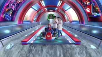 Mario Kart 8 TV Spot, 'Crazy Plunge Test' - Thumbnail 2