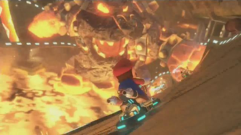 Mario Kart 8 TV Spot, 'Crazy Plunge Test' - Thumbnail 6