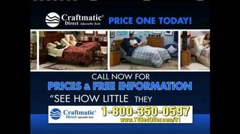 Craftmatic TV Spot, '50% Less' - Thumbnail 3