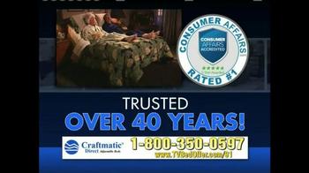 Craftmatic TV Spot, '50% Less' - Thumbnail 4