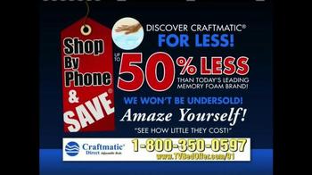Craftmatic TV Spot, '50% Less' - Thumbnail 9