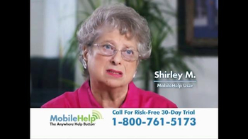 MobileHelp TV Spot, \'Real Customer Testimonials\'