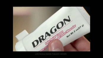 Dragon Pain Relief Cream TV Spot, 'Cudrado Lumbar' [Spanish] - Thumbnail 4