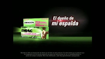 Dragon Pain Relief Cream TV Spot, 'Cudrado Lumbar' [Spanish] - Thumbnail 8