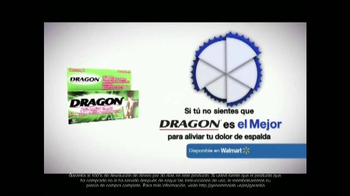Dragon Pain Relief Cream TV Spot, 'Cudrado Lumbar' [Spanish] - Thumbnail 9