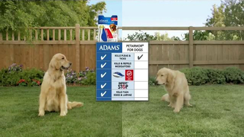 Adams Flea Control TV Spot, 'Side-by-Side Comparison' - Thumbnail 3
