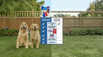 Adams Flea Control TV Spot, 'Side-by-Side Comparison' - Thumbnail 4