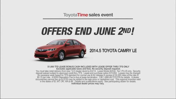 Toyota Time Sales Event TV Spot, 'Leases' - Thumbnail 9