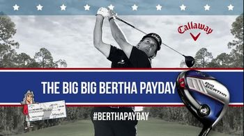 Callaway Big Bertha Pay Day TV Spot Featuring Phil Mickelson - Thumbnail 8