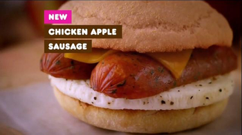 Dunkin' Donuts Chicken Apple Sausage TV Spot - Thumbnail 1
