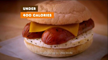 Dunkin' Donuts Chicken Apple Sausage TV Spot - Thumbnail 5