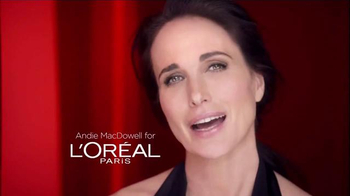 L'Oreal Paris Revitalift TV Spot Featuring Andie MacDowell - Thumbnail 1