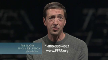 Freedom from Religion Foundation TV Spot, 'Church and State' Featuring Ron Reagan