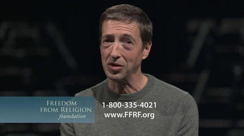 Freedom from Religion Foundation TV Spot, 'Church and State' Featuring Ron Reagan - Thumbnail 8