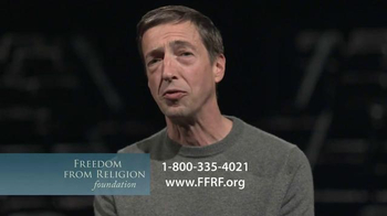 Freedom from Religion Foundation TV Spot, 'Church and State' Featuring Ron Reagan - Thumbnail 9