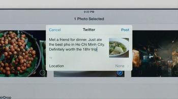 Apple iPad Air TV Spot, 'Chérie King' - Thumbnail 6