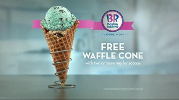 Baskin-Robbins TV Spot, 'Free Waffle Cone' - Thumbnail 9