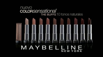 Maybelline New York Color Sensational The Buffs TV Spot, 'Puro y natural' [Spanish] - Thumbnail 10
