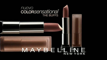 Maybelline New York Color Sensational The Buffs TV Spot, 'Puro y natural' [Spanish] - Thumbnail 3