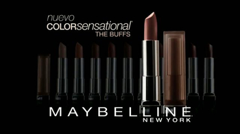 Maybelline New York Color Sensational The Buffs TV Spot, 'Puro y natural' [Spanish] - Thumbnail 9