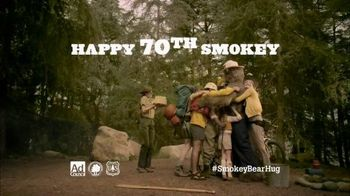 Smokey Bear TV Spot, 'Smokey's 70th Birthday' - Thumbnail 10