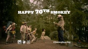 Smokey Bear TV Spot, 'Smokey's 70th Birthday'