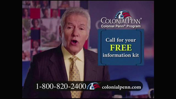 Colonial Penn TV Spot, 'Important Message' Featuring Alex Trebek - 12339 commercial airings