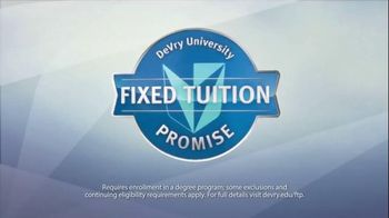 DeVry University TV Spot, 'Fixed Tuition' - 131 commercial airings