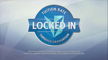 DeVry University TV Spot, 'Fixed Tuition' - Thumbnail 7