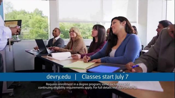 DeVry University TV Spot, 'Fixed Tuition' - Thumbnail 8