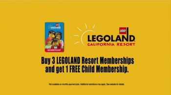 LEGOLAND California Resort TV Spot, 'Come Play' - Thumbnail 9