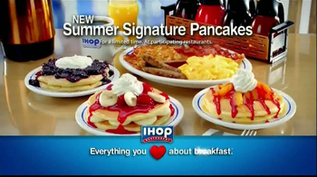 IHOP TV Spot, 'Summer Signature Pancakes' - 3680 commercial airings