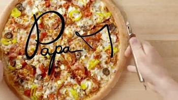 Papa John's Greek Pizza TV Spot - Thumbnail 5