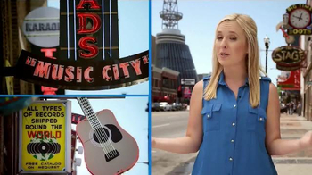 Yoplait 100 Calorie Strawberry Greek Yogurt TV Spot, 'Music City Taste-Off' - Thumbnail 2