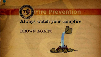 Smokey Bear Campaign TV Spot, 'Forrest Fire Prevention' - Thumbnail 6