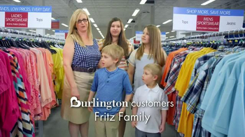 Burlington Coat Factory TV Spot, 'Fritz Family' - Thumbnail 2