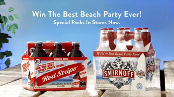 Smirnoff and Red Stripe TV Spot, 'Bring On The Summer' - Thumbnail 10