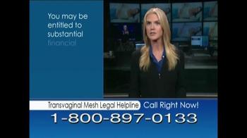 Avram Blair & Associates TV Spot, 'Transvaginal Mesh Legal Helpline' - Thumbnail 10